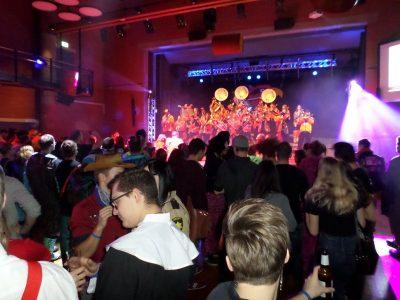 Unser zweites Wochenende mit Maskenball Dicken, Guggä Flash Party Mörschwil und Gugge Fescht Waldstatt